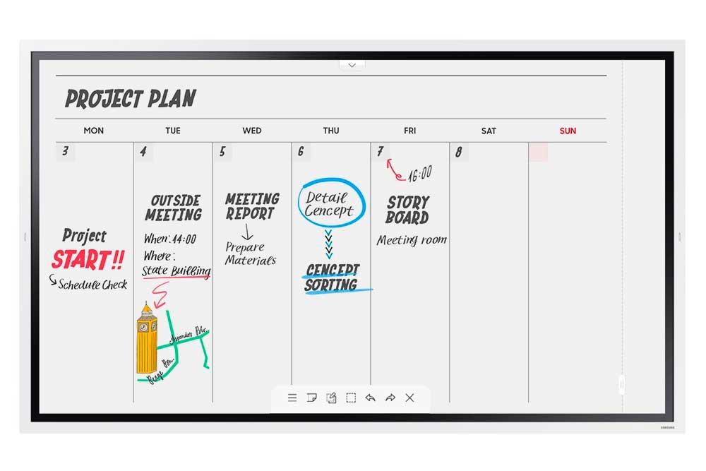 Samsung Flip 2.0 Pizarra digital para escuelas y centros educativos