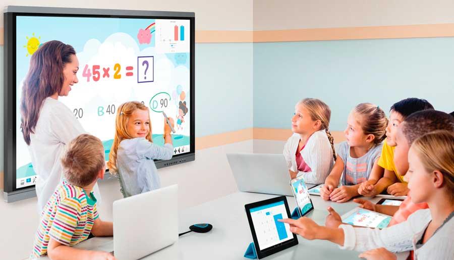pantalla-interactiva-para-escuelas-imaginepanel-de-seven