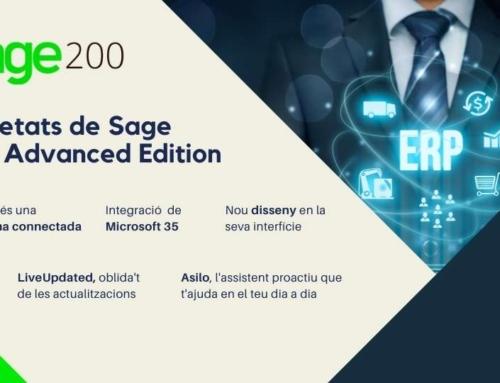 Novetats Sage 200 Advanced, el ERP perfecte per a tu empresa